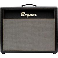 Bogner Bogner 212C 2X12 Closed Cab W/Vint 30.S 8 Ohm S&P Grill Jet Comet Tolex Black Slant