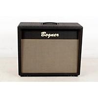 Used Bogner 212C 120W 2X12 Guitar Speaker Cabinet Comet Straight Black, Slant 190839006943