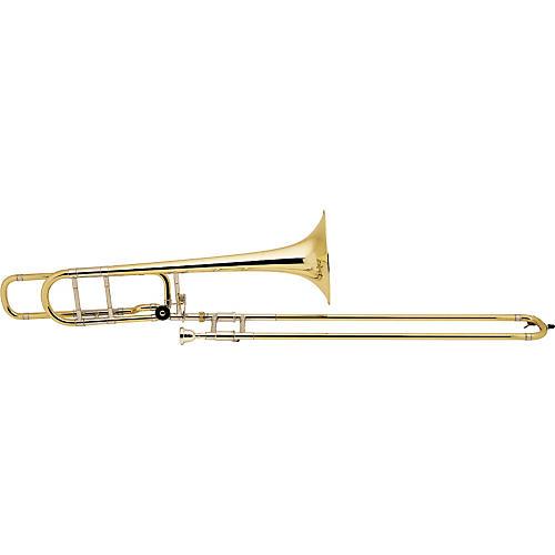 Bach 42BO Stradivarius Series F-Attachment Trombone Lacquer Yellow Brass Bell Lightweight Slide