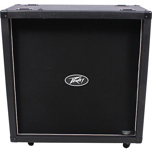 open box peavey 430 4x12 guitar speaker cabinet black straight 190839128409 musician 39 s friend. Black Bedroom Furniture Sets. Home Design Ideas
