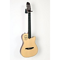 Used Godin Multiac Nylon Duet Ambiance Acoustic-Electric Guitar Natural 888365916033