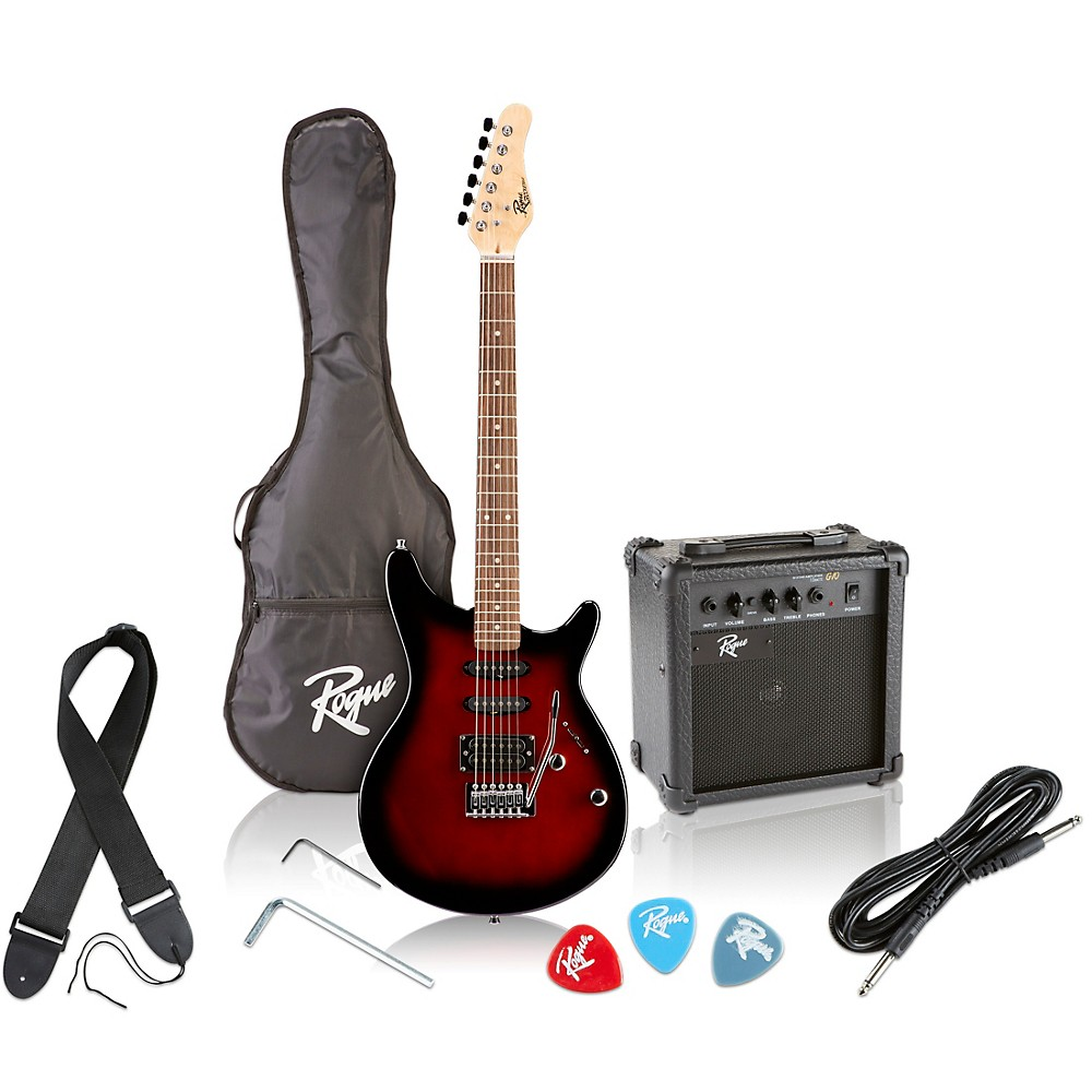 Rogue-Rocketeer-Electric-Guitar-Pack-Red-Burst