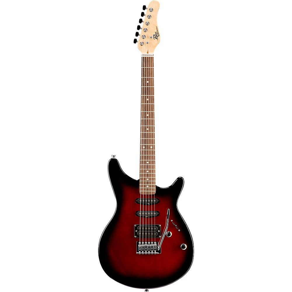 Rogue-Rocketeer-Electric-Guitar-Pack-Red-Burst thumbnail 4
