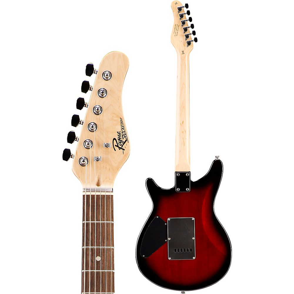 Rogue-Rocketeer-Electric-Guitar-Pack-Red-Burst thumbnail 5