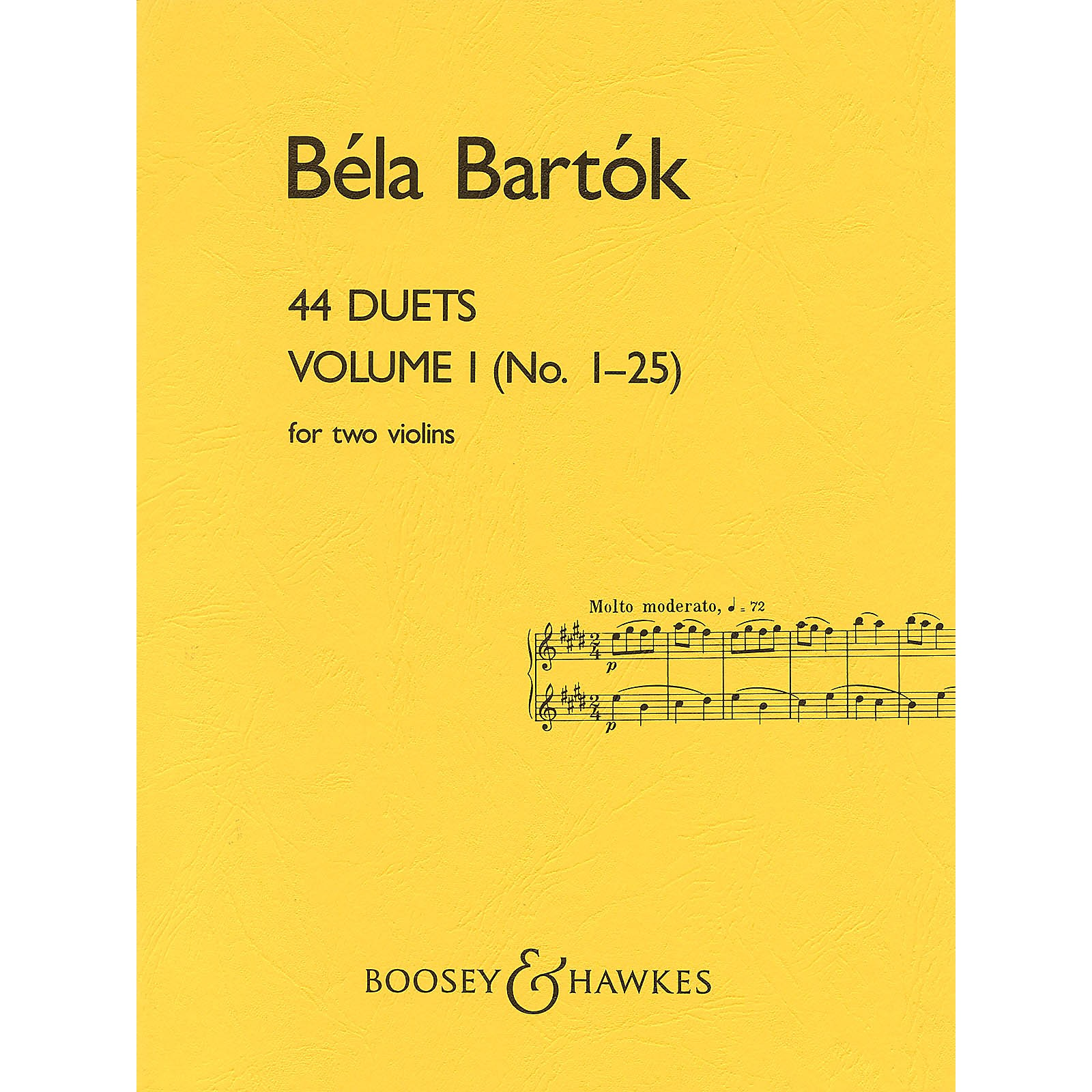 Boosey and Hawkes 44 Duets (Volume I (No. 1-25)) Boosey & Hawkes Chamber Music Series