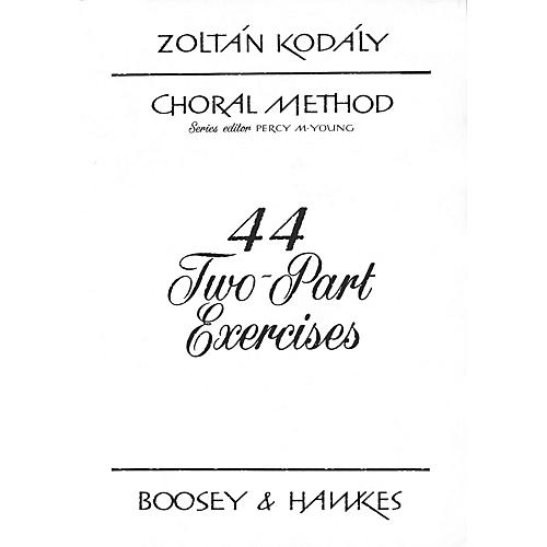 Boosey and Hawkes 44 Two-Part Exercises 2-Part Composed by Zoltán Kodály