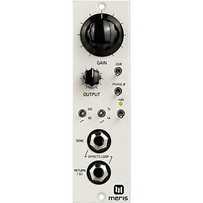 Meris 440 MIC PRE 500 Series for Recording Guitar