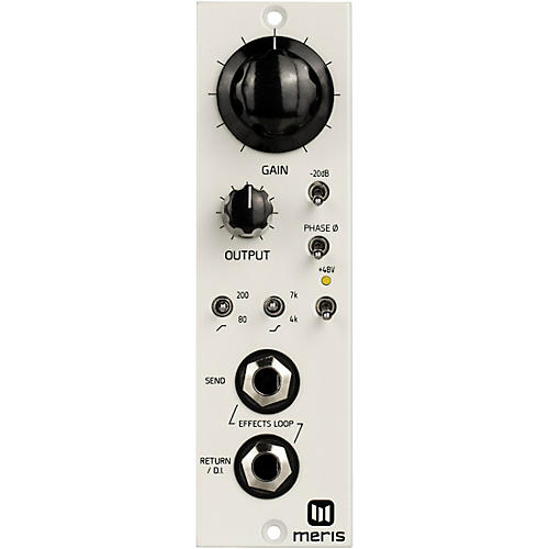 Meris 440 MIC PRE 500 Series for Recording Guitar White