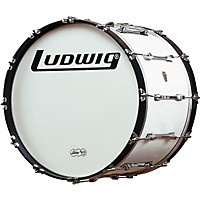 Ludwig Challenger Bass Drum White 26 Inch