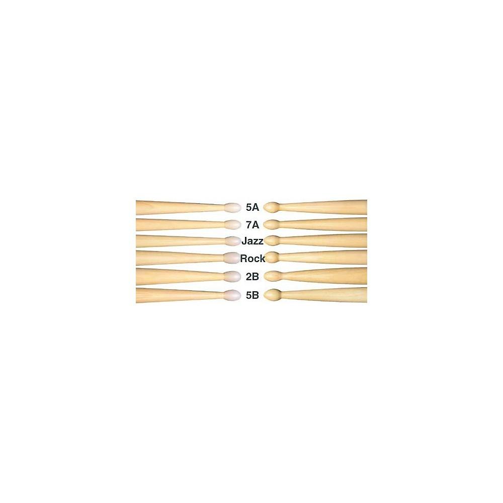 Pair Regal Tip 207R Classic Series Hickory//Wood 7A Drum Set//Kit Drumstick