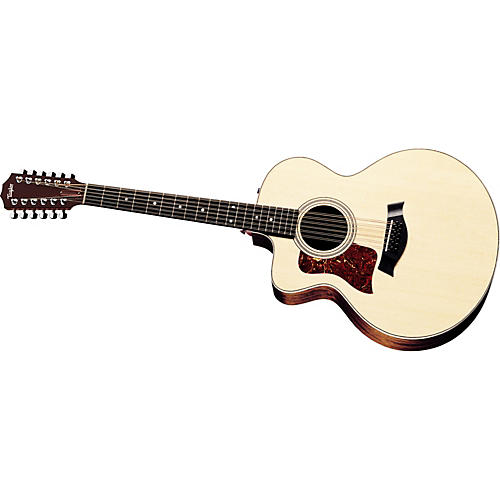 Taylor 455-CE Left-Handed 12-String Jumbo Acoustic-Electric Guitar (2011 Model)