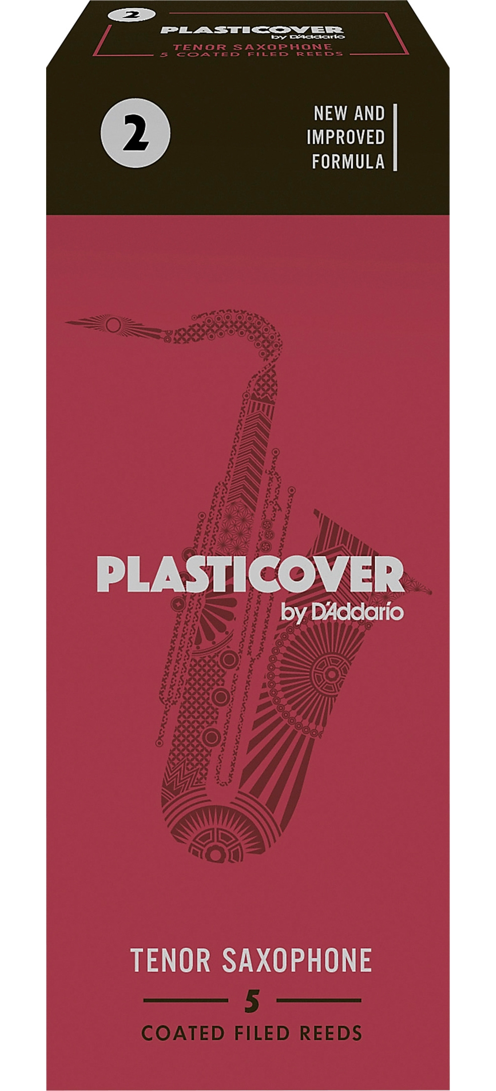 Rico-Plasticover-Tenor-Saxophone-Reeds-Strength-2-Box-of-5 thumbnail 5