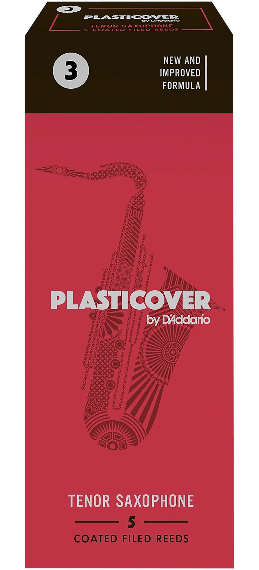 Rico-Plasticover-Tenor-Saxophone-Reeds-Strength-3-Box-of-5 thumbnail 5