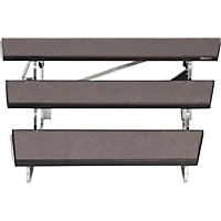 Midwest Folding Products Transfold Choral Risers 48 In. Wide, 3 Levels