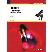 Schott 48 Studies (Op. 29 & 32) for Piano by Henri Bertini