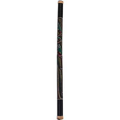 Pearl 48 in. Bamboo Rainstick in Hand-Painted Hidden Spirit Finish