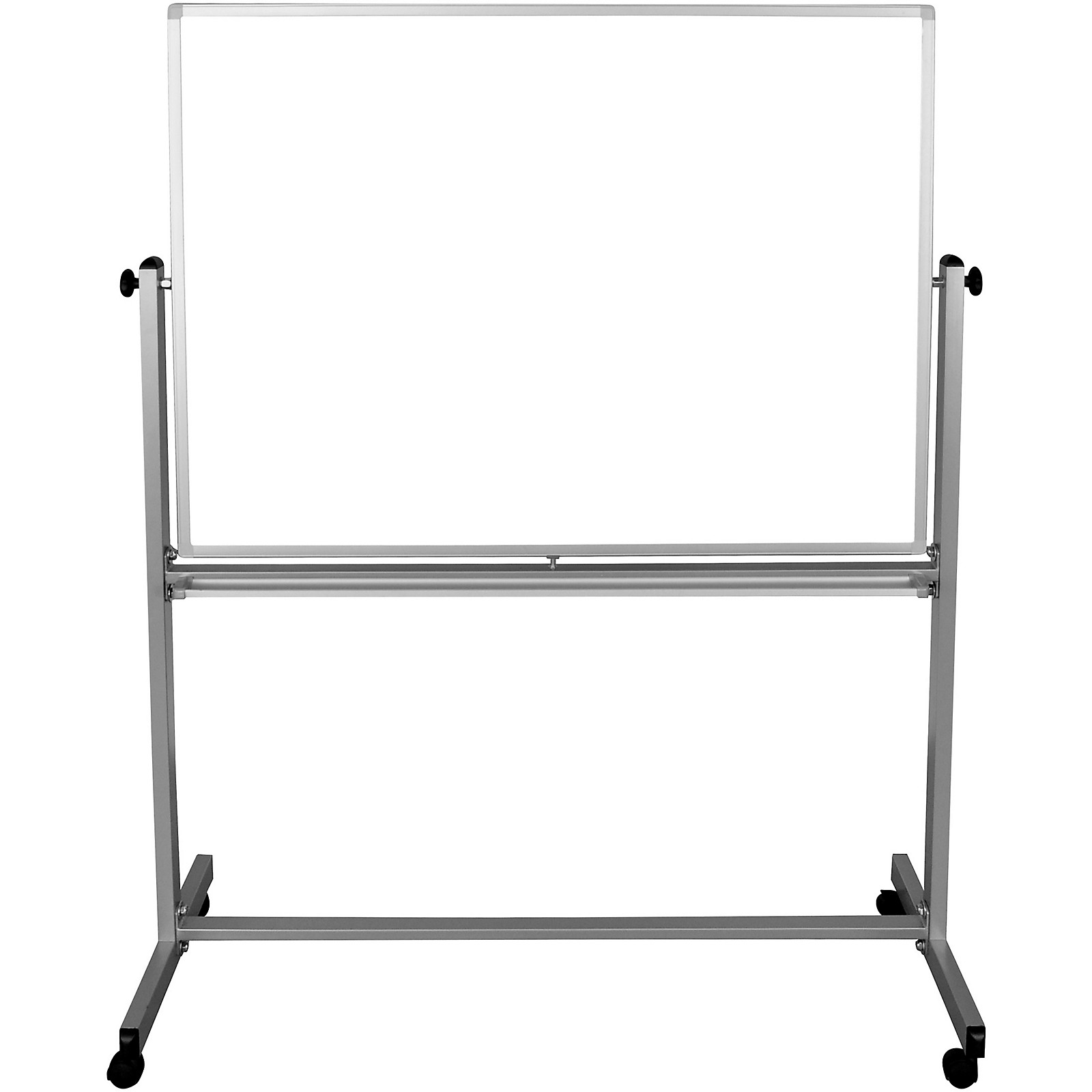H. Wilson 48x36 Double Sided Mobile Whiteboard