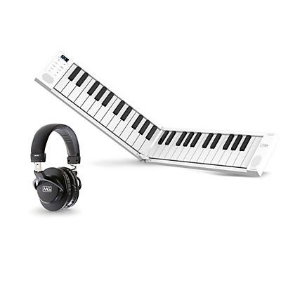 Carry-On 49-Key Folding Piano with Headphones