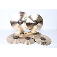 Used Sabian Hhx Super Cymbal Set Regular 190839040183