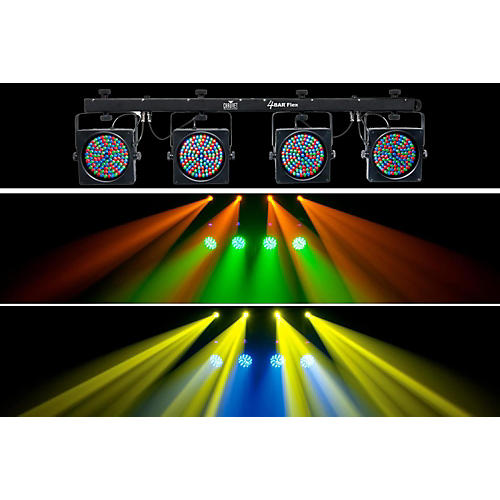 CHAUVET DJ 4BAR Flex LED Wash Light System with  DMX Capability