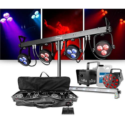 CHAUVET DJ 4BAR LT USB Wash Light System with JAM Pack Diamond Lighting Package