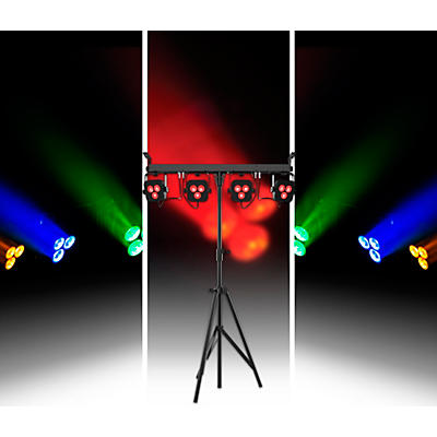 CHAUVET DJ 4Bar LT Quad BT RGBA LED Wash Light System