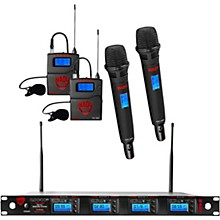 Nady 4W-1KU - Quad 1000-Channel Combo Wireless System