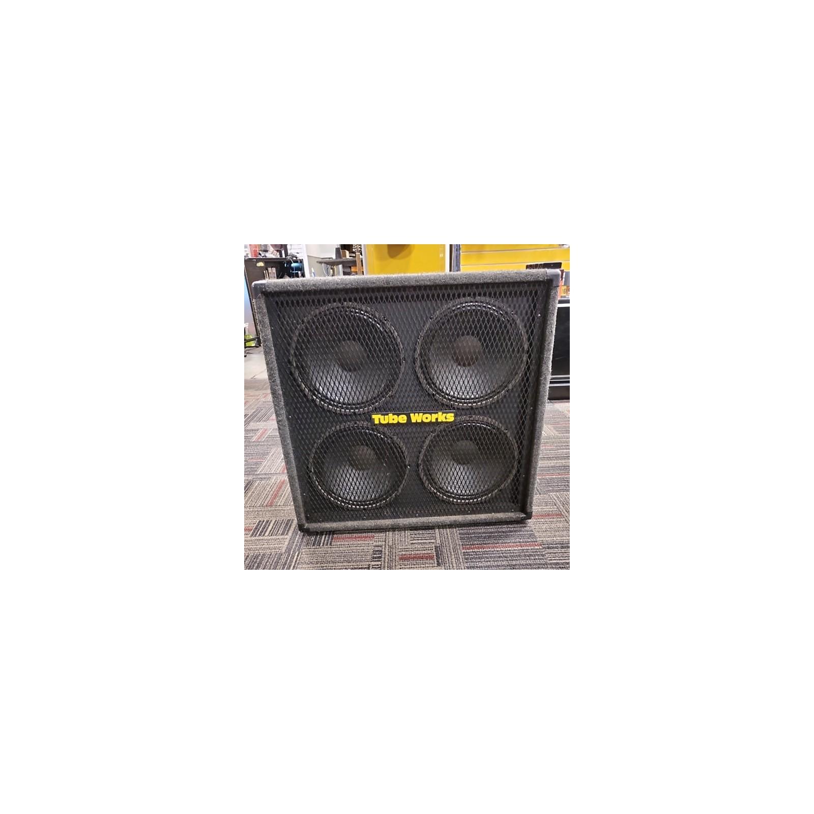 Tubeworks 4x12 Flat Front Cab Guitar Cabinet