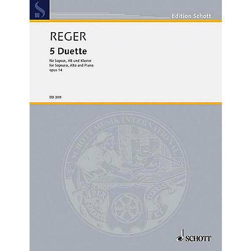 Schott 5 Duets Op. 14 Schott Series