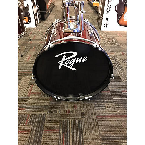 Rogue 5 PIECE DRUM KIT Drum Kit Wine Red