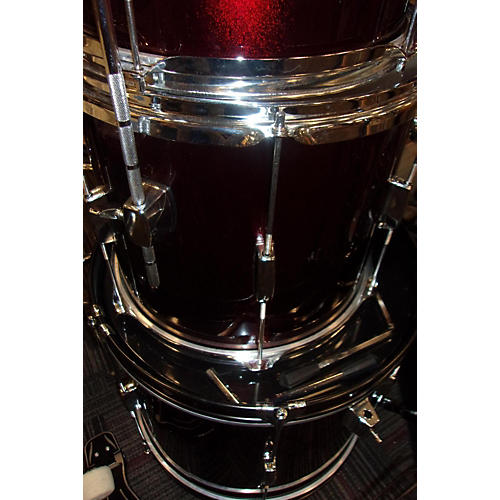 Rogue 5 PIECE DRUM SET Drum Kit Candy Apple Red