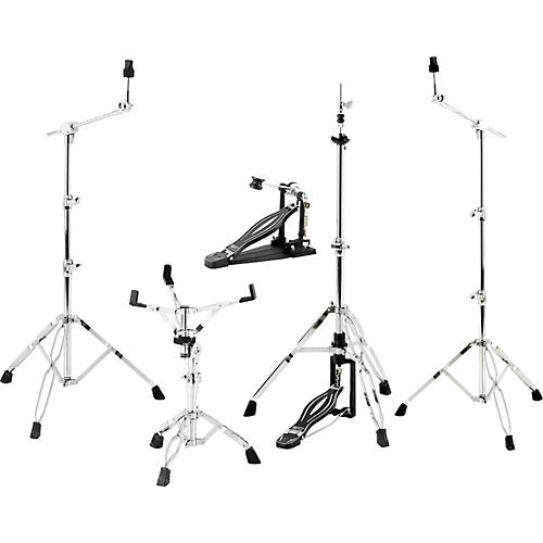 sound percussion labs 5 piece drum hardware pack musician 39 s friend. Black Bedroom Furniture Sets. Home Design Ideas