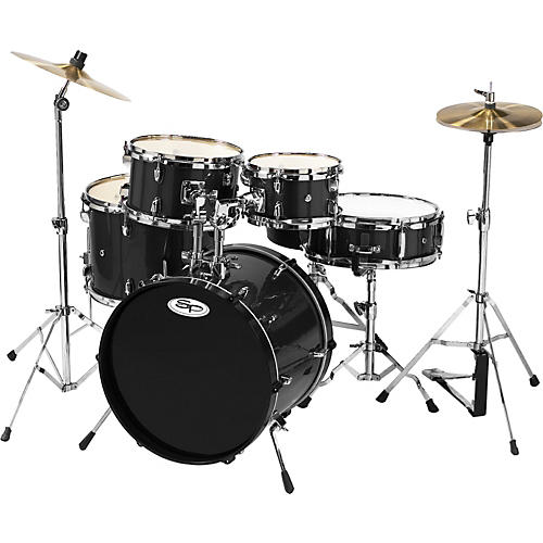 sound percussion labs 5 piece junior drum set with cymbals musician 39 s friend. Black Bedroom Furniture Sets. Home Design Ideas