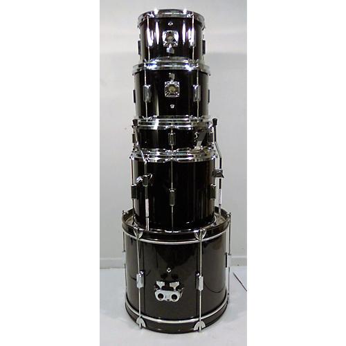 Rogue 5 Piece Rogue Drumset Drum Kit Black