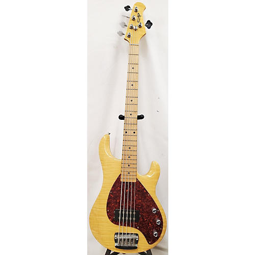 OLP 5 STRING BASS Electric Bass Guitar Butterscotch