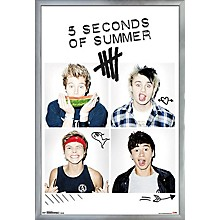 Trends International 5 Seconds Of Summer -Squares Poster