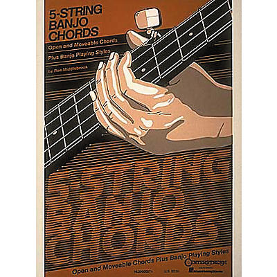 Hal Leonard 5-String Banjo Chord Chart
