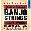 Dunlop 5-String Banjo Medium Nickel String Set thumbnail