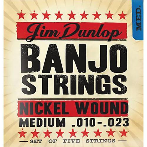 Dunlop 5-String Banjo Medium Nickel String Set