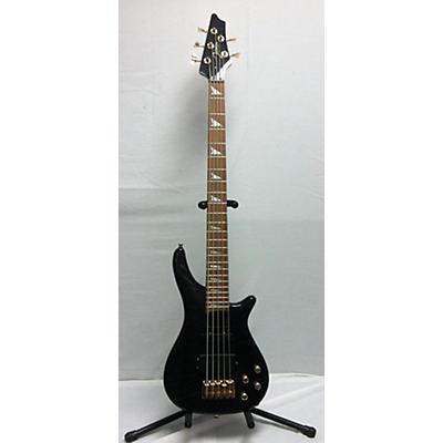 Johnson 5 String Quilt Top Electric Bass Guitar