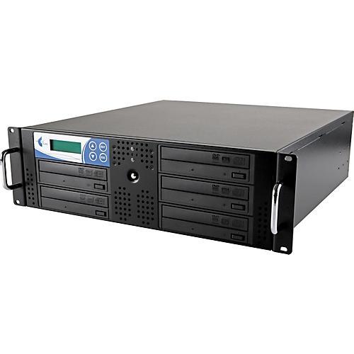 EZ Dupe 5 Target Rack DVD and CD Rack Mount Duplication System