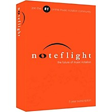 Noteflight 5-Year Subscription Download Software Download