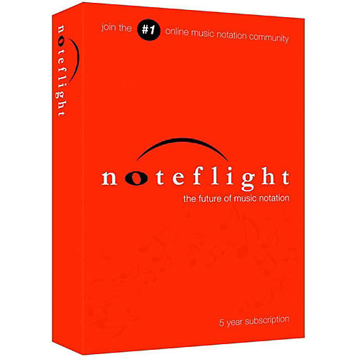 Noteflight 5-Year Subscription