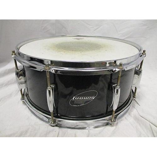 Ludwig 5.5X14 Accent CS Snare Drum Black 10