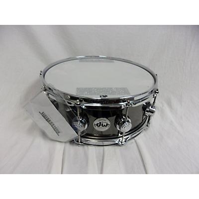 DW 5.5X14 COLLECTOR SERIES NICKEL OVER BRASS Drum