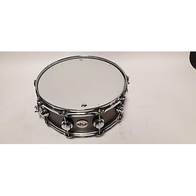 DW 5.5X14 Collector's Series Black Nickel Over Brass Drum