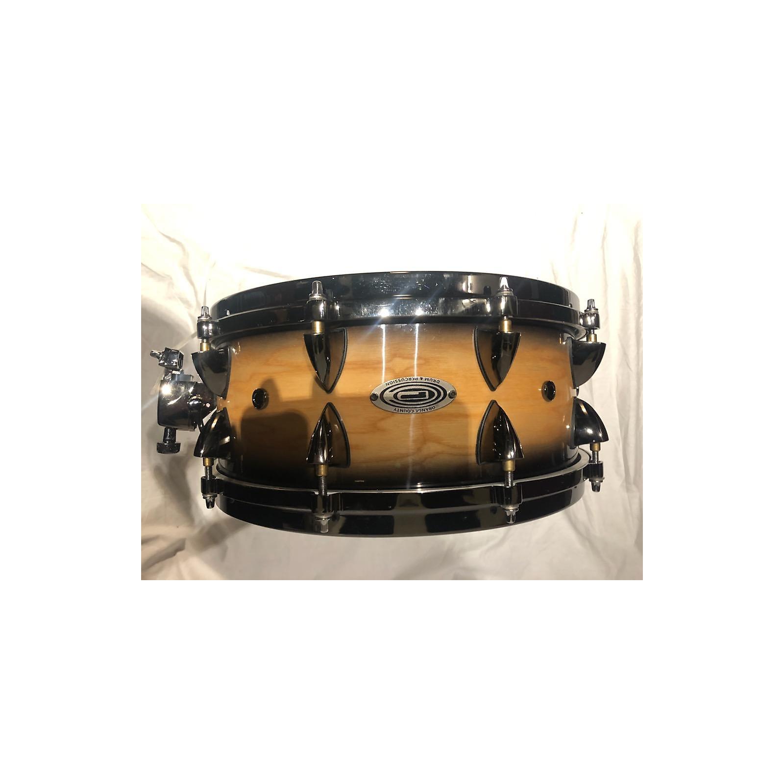 Orange County Drum & Percussion 5.5X14 Maple Drum