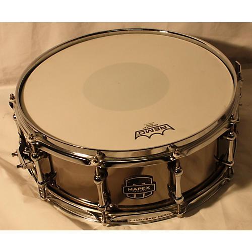 Mapex 5.5X14 Tomahawk Drum BLACK NICKEL 10