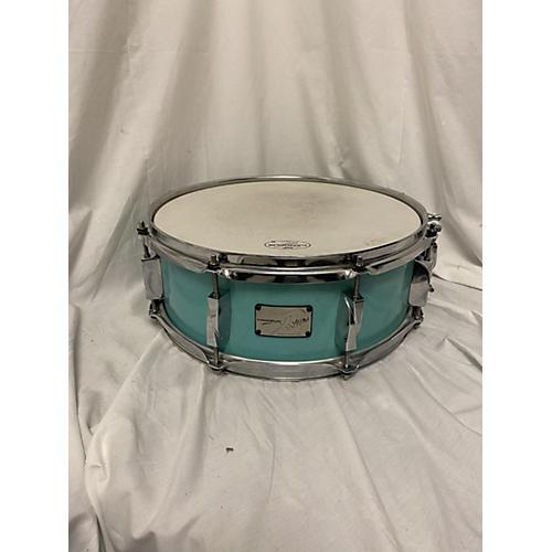 Canopus 5.5X14 Yaiba Birch Drum Seafoam Green 10