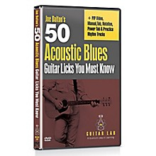 Emedia 50 Acoustic Blues Licks You Must Know DVD